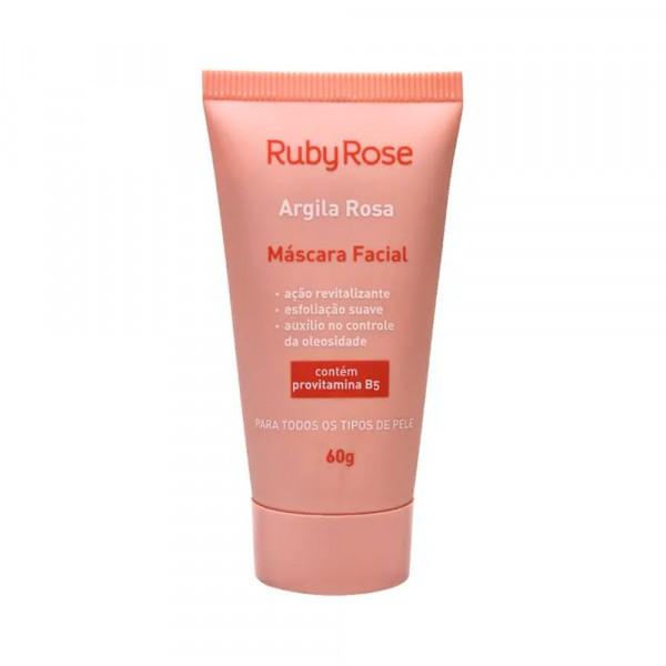 MASCARA FACIAL ARGILA ROSA - RUBY ROSE