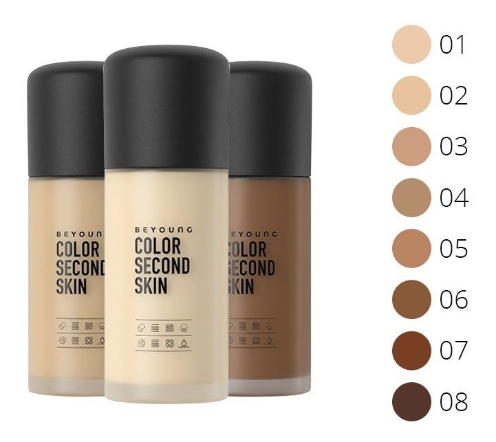 BASE COLOR SECOND SKIN -  BEYOUNG