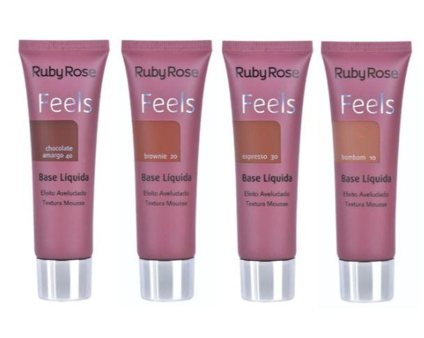 BASE LIQUIDA FEELS - RUBY ROSE