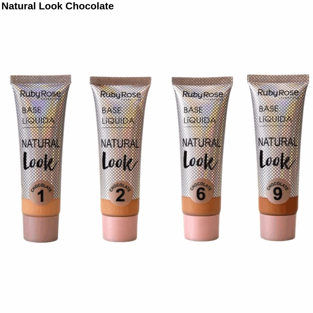 Base Liquida Natural Look Chocolate Group 3 Ruby Rose