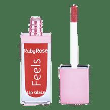 BATOM LIP GLAZE FEELS - RUBY ROSE