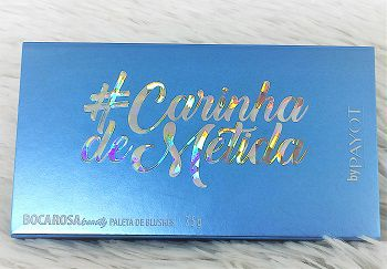 BOCA ROSA CARINHA DE METIDA PALETA DE BLUSHES