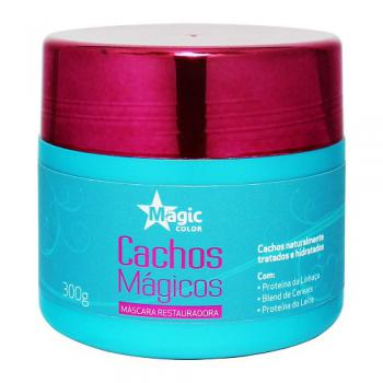 CACHOS MAGICOS MASCARA RESTAURADORA 300G - MAGIC COLOR