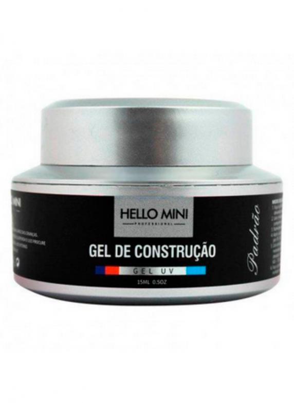 GEL DE CONSTRUÇAO PADRAO 01 CLEAR- HELLO MINI