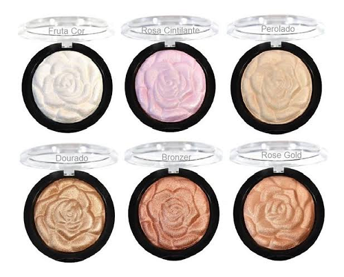 ILUMINADOR FACIAL BAKED HIGHLIGHTER POWDER RUBY ROSE