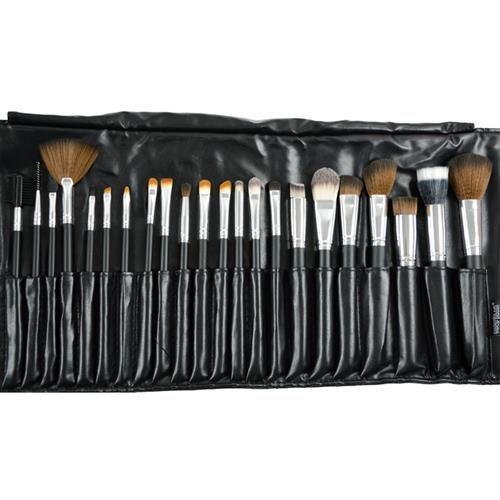 Kit com 22 Pincéis Profissionais para Maquiagem Macrilan
