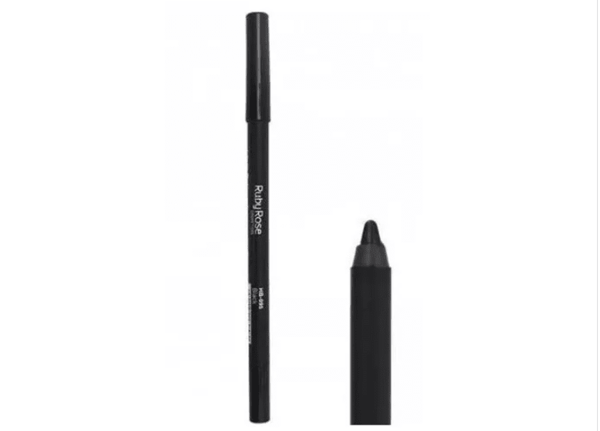 Lápis Delineador de Olhos Carbon Black - Ruby Rose