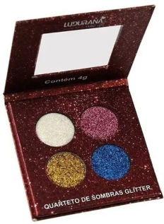 Ludurana Quarteto de Sombra Glitter
