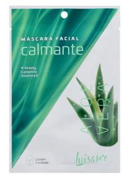 Máscara facial Calmante Aloe Vera