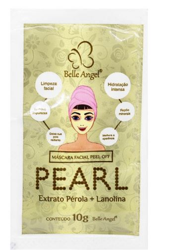 MASCARA FACIAL PEARL EXTRATO PEROLA+LANOLINA- BELLE ANGEL
