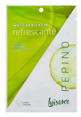 Máscara facial Refrescante Pepino