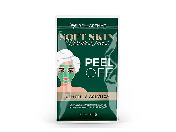 MASCARA FACIAL SOFT SKIN PEEL OFF - BELLA FEMME