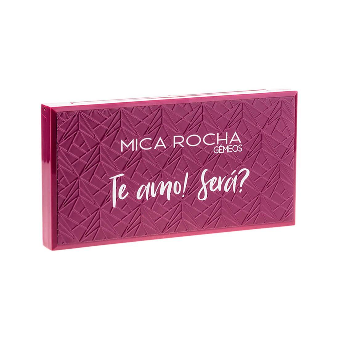 PALETA DE SOMBRA GEMEOS TE AMO ! SERA? - MICA ROCHA