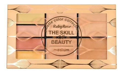PALETA DE CORRETIVO THE SKILL OF BEAUTY RUBY ROSE