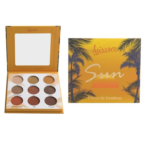 Paleta de Sombras Luisance Sun