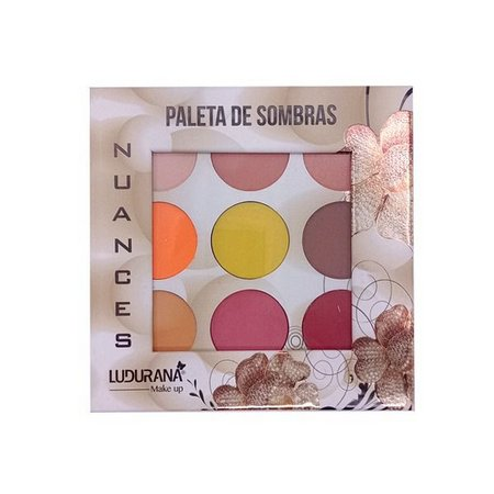 PALETA DE SOMBRAS NUANCES - LUDURANA