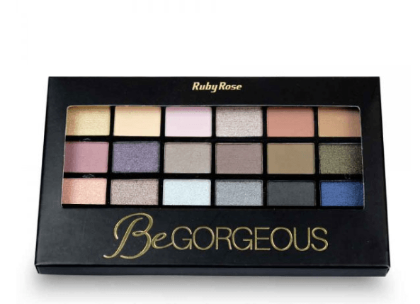PALETA DE SOMBRAS + PRIMER BE GORGEOUS - RUBY ROSE