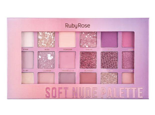 PALETA DE SOMBRAS SOFT NUDE FEELS- RUBY ROSE