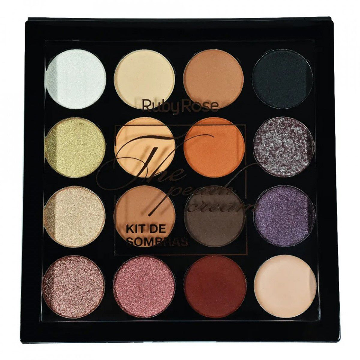 PALETA DE SOMBRAS THE PEACH CREAM - RUBY ROSE
