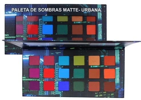 Paleta de Sombras Urbana  Ludurana