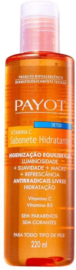 PAYOT SABONETE LIQUIDO DETOX VITAMINA C - PAYOT