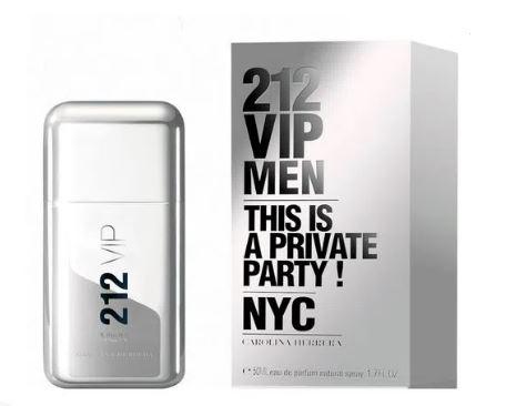 PERFUME 212 VIP MEN 50ML - CAROLINA HERRERA
