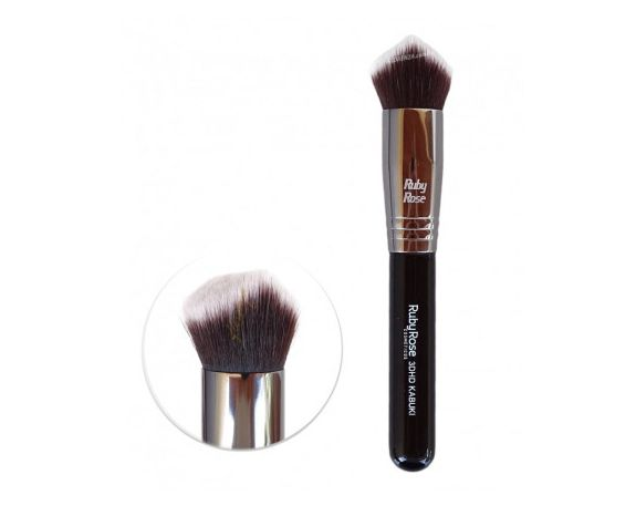 PINCEL KABUKI BRUSH - RUBY ROSE