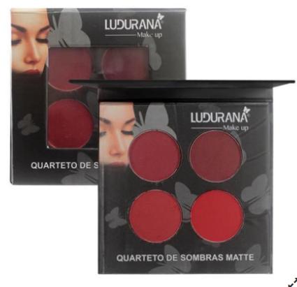 Quarteto de Sombras Matte 03 Ludurana