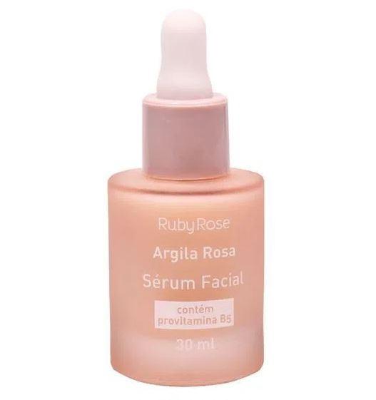 SERUM FACIAL ARGILA ROSA - RUBY ROSA