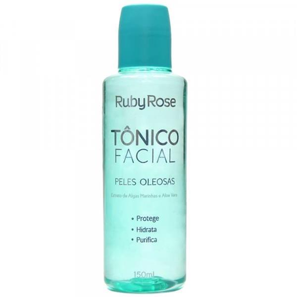 TONICO FACIAL PELES OLEOSAS - RUBY ROSE