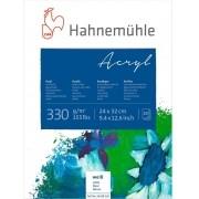 Bloco Acrílico Acryl 330 g/m² 24 x 32cm com 20 fls. Hahnemuhle