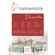 Bloco Veneto 325g/m Para Aquarela 24x32cm textura fina Hahnemuhle