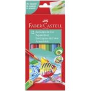 EcoLápis de Cor Aquarelável Estojo com 12 Cores - Ref 120212 - Faber-Castell