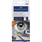 Grafite Sketch Set 8 Unidades, Faber-Castell - Ref. 114000