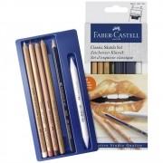 Lápis Esboço Kit Classic Sketch Set com 6 Unidades Ref.114004 Faber-Castell
