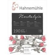Papel para Desenho  Nostalgie A4 190 g/m² 50 fls Hahnemuhle