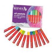 Pastel Oleoso Reeves 12 Cores Artístico ref. 4880080