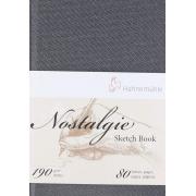 Sketchbook Nostalgie 190 g/m² A5 com 40 Folhas Retrato Hahnemuhle