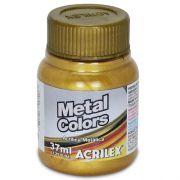 Tinta Acrílica Metal Colors Acrilex 37ml