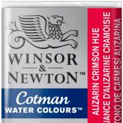 Tinta Aquarela em Pastilha Cotman Winsor & Newton Alizarin Crimson Hue 003