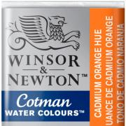 Tinta Aquarela em Pastilha Cotman Winsor & Newton Cadmium Orange Hue 090