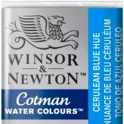 Tinta Aquarela em Pastilha Cotman Winsor & Newton Cerulean Blue Hue 139