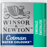 Tinta Aquarela em Pastilha Cotman Winsor & Newton Emerald 235