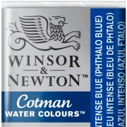 Tinta Aquarela em Pastilha Cotman Winsor & Newton Intense Blue 327