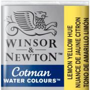 Tinta Aquarela em Pastilha Cotman Winsor & Newton Lemon Yellow Hue 346
