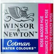 Tinta Aquarela em Pastilha Cotman Winsor & Newton Rose Madder Hue 580