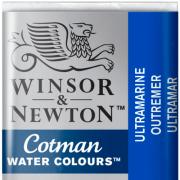 Tinta Aquarela em Pastilha Cotman Winsor & Newton Ultramarine 660