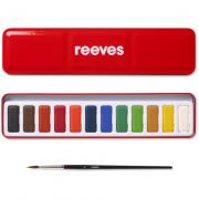 Tinta Aquarela Reeves Pastilha 12 Cores ref. 8493254