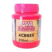 Tinta PVA Fosca para Artesanato 250ml Acrilex