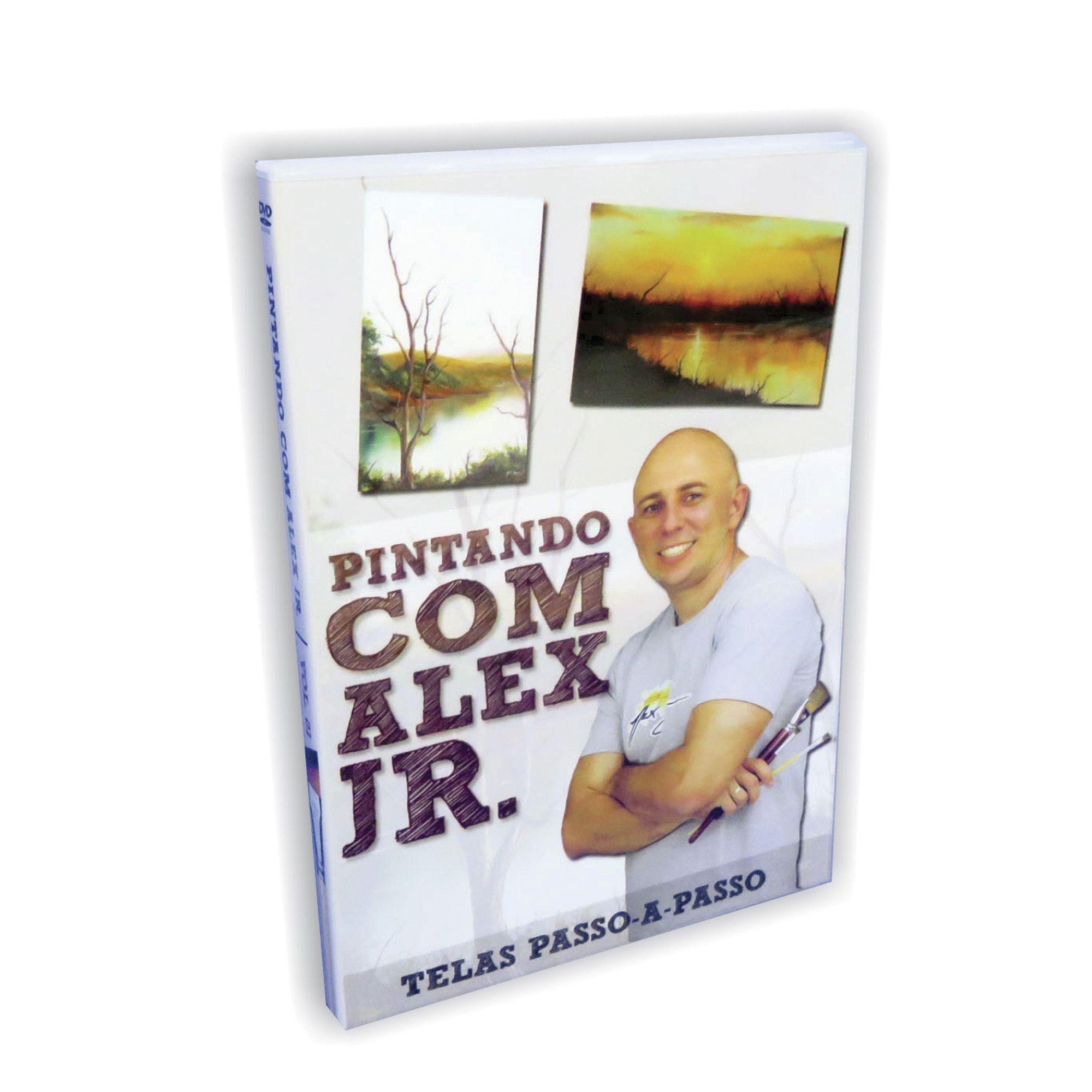 DVD Pintando com Alex Jr. - vol. 01